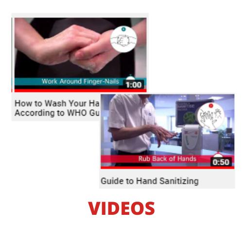 hand hygiene tutorials