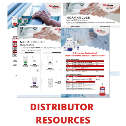 hand hygiene materials for distributors